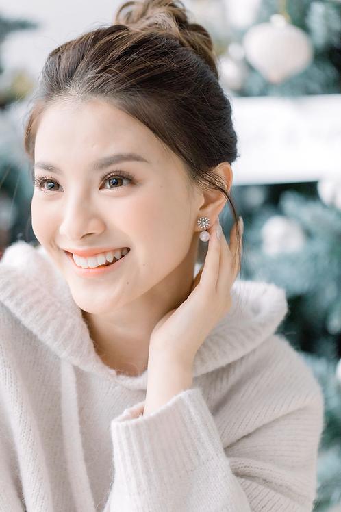 Snowy Earrings Set
