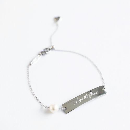 #lovetheflaws Bar Bracelet
