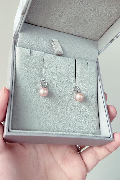 Spring Special: Pink Circlet Earrings