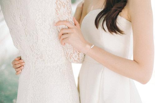 TriO Bracelet with Akoya Pearl