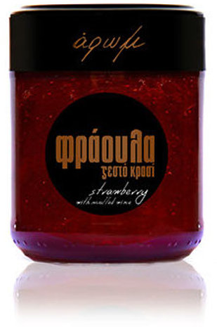 Strawberry with Mulled Wine Jam 210gr