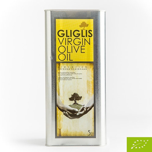 GERAS Huile d'Olive Vierge Bio 5lt.