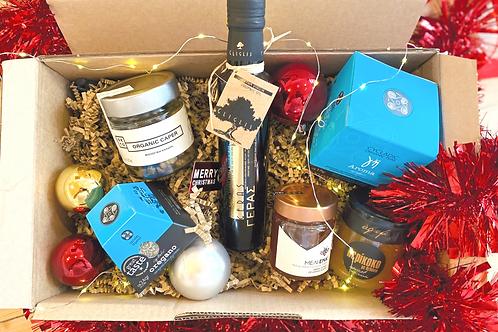 Christmas Basket Geras Organic Olive Oil