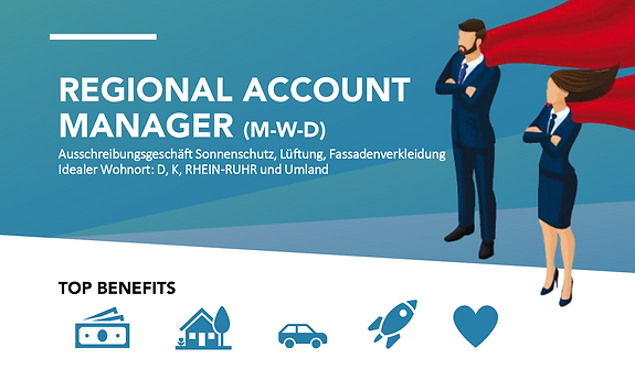 REGIONAL ACCOUNT MANAGER (M-W-D) (RHEIN-RUHR)