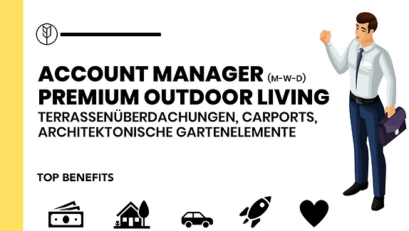 ACCOUNT MANAGER (M-W-D) OUTDOOR LIVING