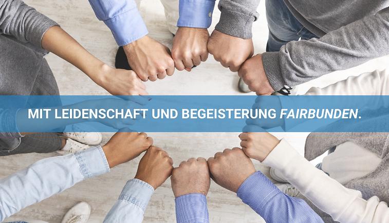 Mit Leidenschaft und Begeisterung fairbunden - Karriere bei Aidoo Software GmbH