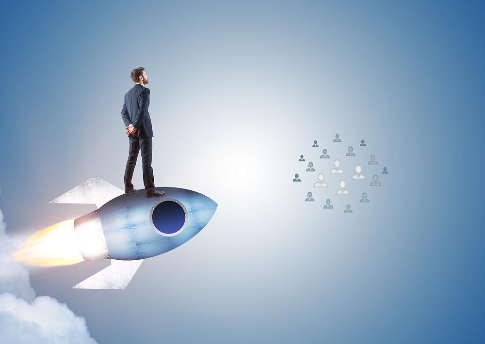 Customer Centricity, Kundenzentrierung, Digital Sales, Rakete, Growth Hacking
