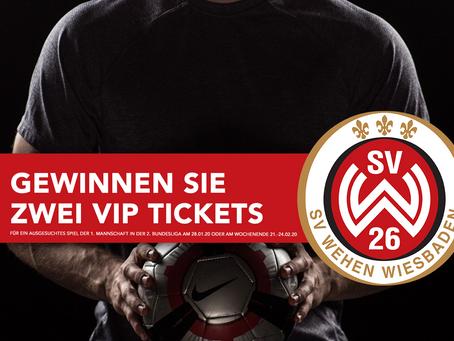 Gewinnen Sie zwei VIP Tickets beim SV Wehen Wiesbaden - nehmen Sie jetzt an der Studie teil!