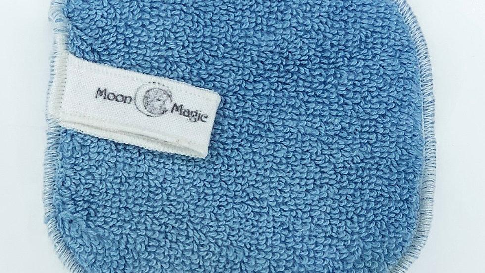 Organic Lapis Lazuli Herbal Facial Washcloth