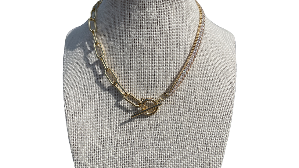 Glam and Chain necklace