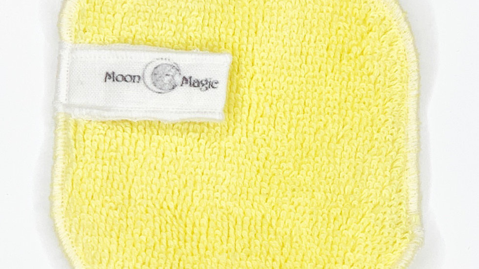 Organic Citrine Herbal Facial Washcloth