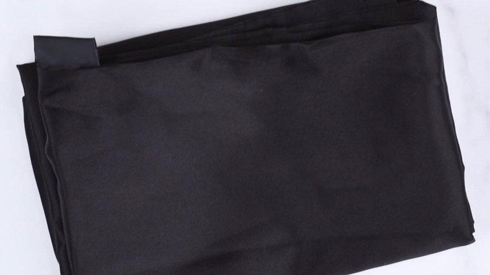 Satin Black Pillow case