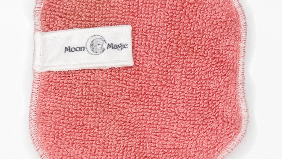 Organic Rose Quartz Herbal Facial Washcloth
