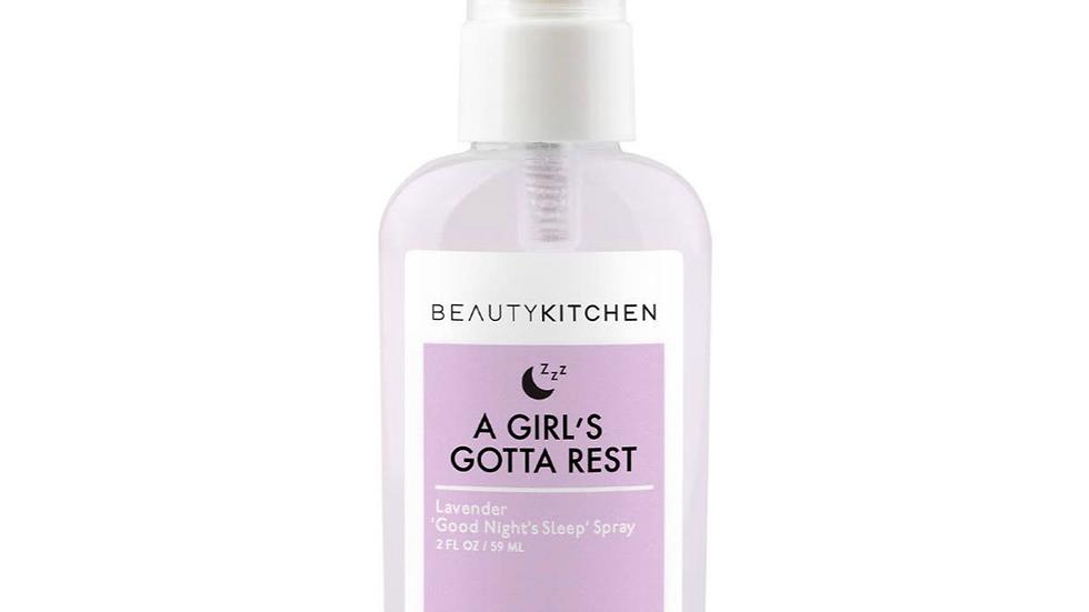 Beauty Kitchen A girls gotta rest Lavender Spray