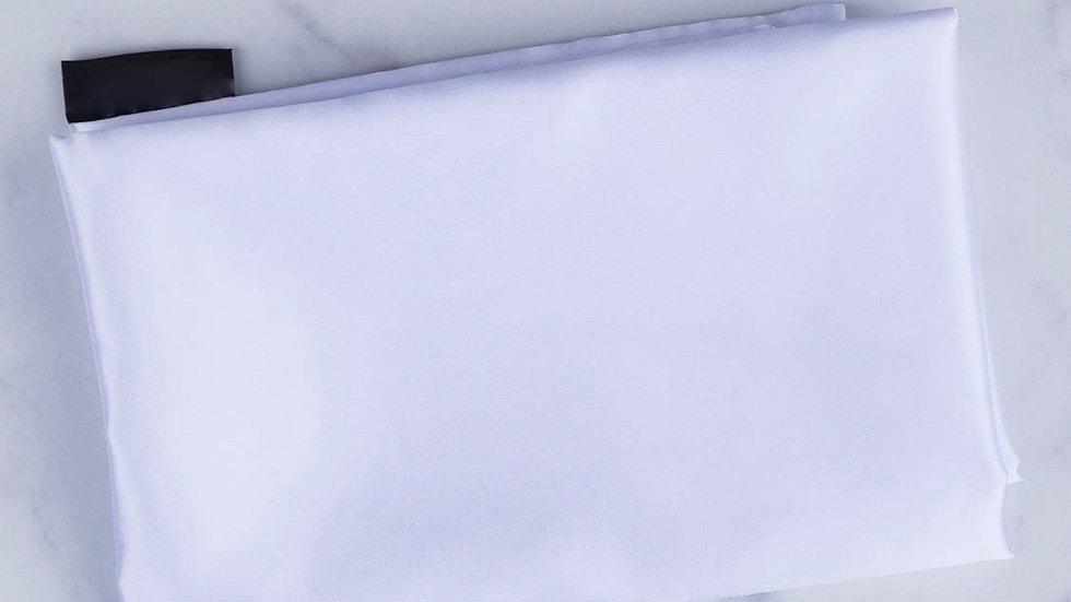Satin White Pillowcase