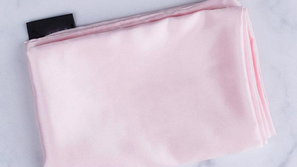 Satin Blush Pink Pillow Case