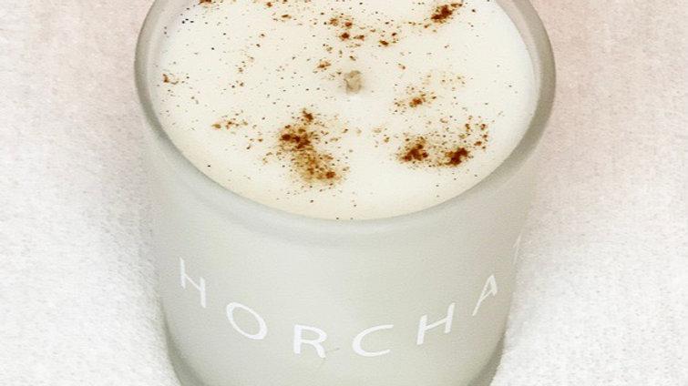 Sin Min Horchata Soy Candle 10oz vanilla and Cinnamon