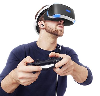 VR szemüveg kontrolerrel