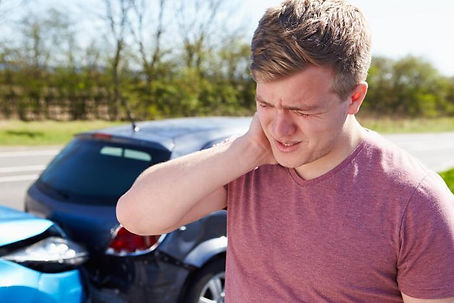 Neck pain following car accident
