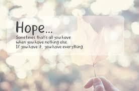 Hope Afterwards