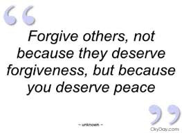 Forgiving For Yourself