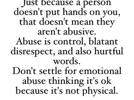 Abuse: More Than Just A Physical Act