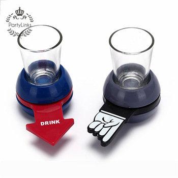 Bachelorette Party Drinking Game Shot Spinner