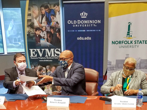 ONE School of Public Health Established by ODU, Norfolk State and EVMS