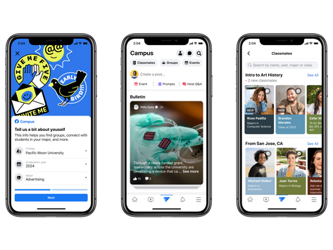 Facebook Introduces Facebook Campus: Now Available for ODU Students