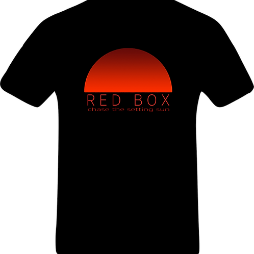 BUY NOW Black T-shirt with new album 'Chase the Setting Sun' logo