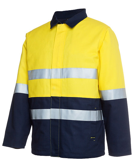 HI VIS ( D+N ) COTTON JACKET