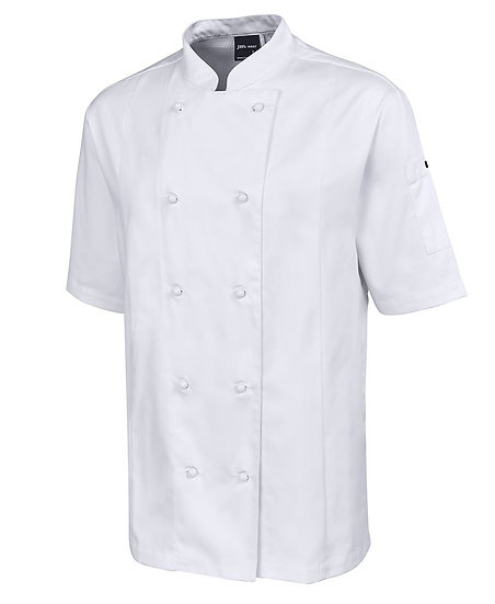 VENTED CHEF'S JACKET SHORT SLEEVE