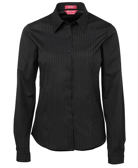 LADIES URBAN POPLIN SHIRT L/S