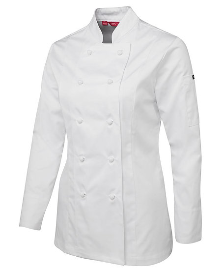 LADIES CHEF'S JACKET LONG SLEEVE