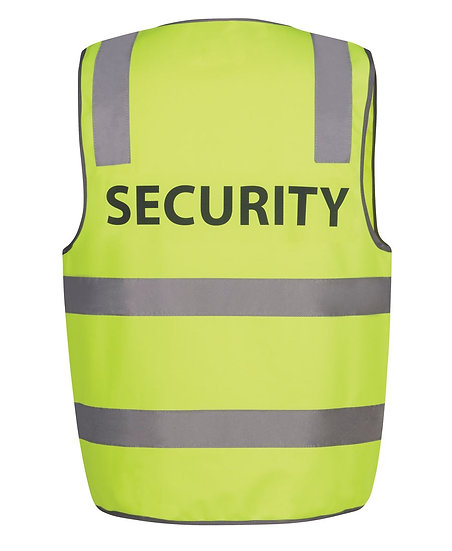 HI VIS ( D+N ) SAFETY VEST WITH PRINT