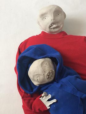 sculptur bonhomme moche