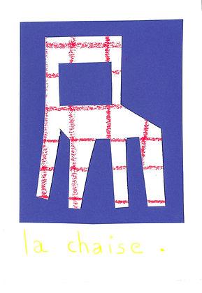 mini collage : la chaise
