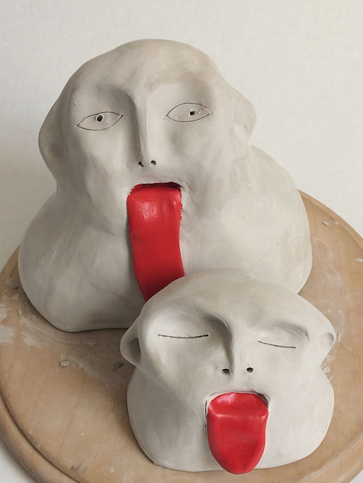 sculpture langue