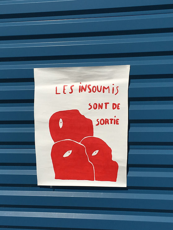 insoumis / insoumise