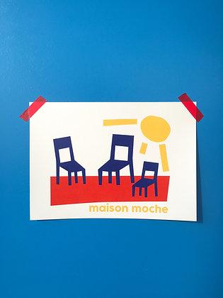 chaises au soleil