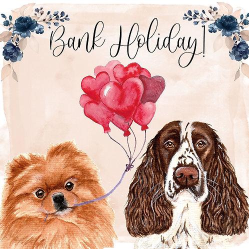 Bank Holiday Watercolour Portraits