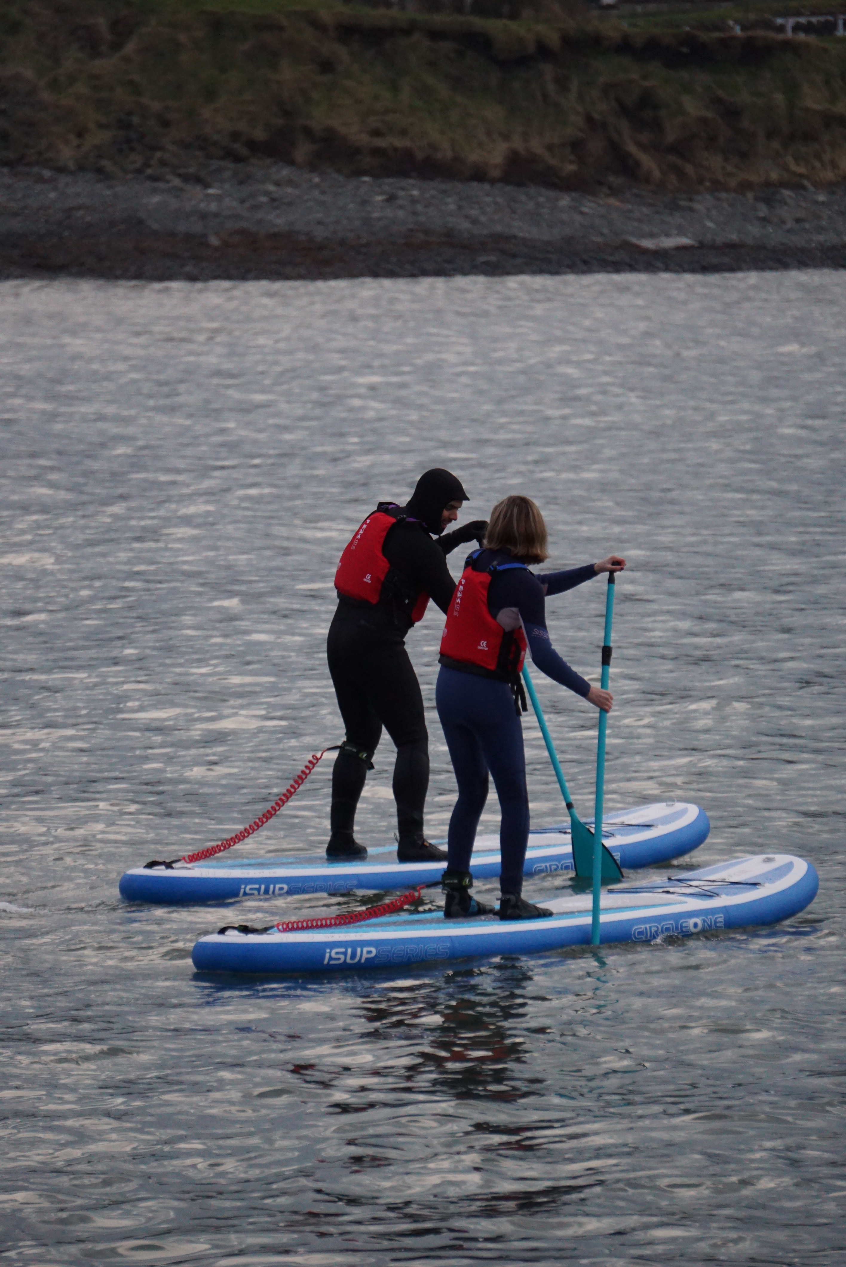 Morning Stand Up Paddleboarding