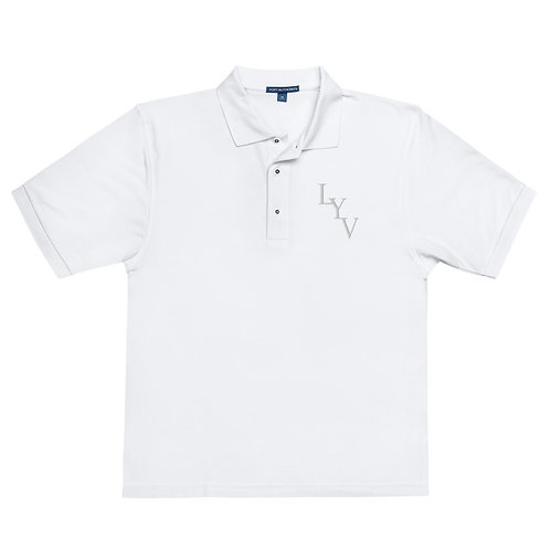 Men's Premium Polo T-Shirt (Embroidered)