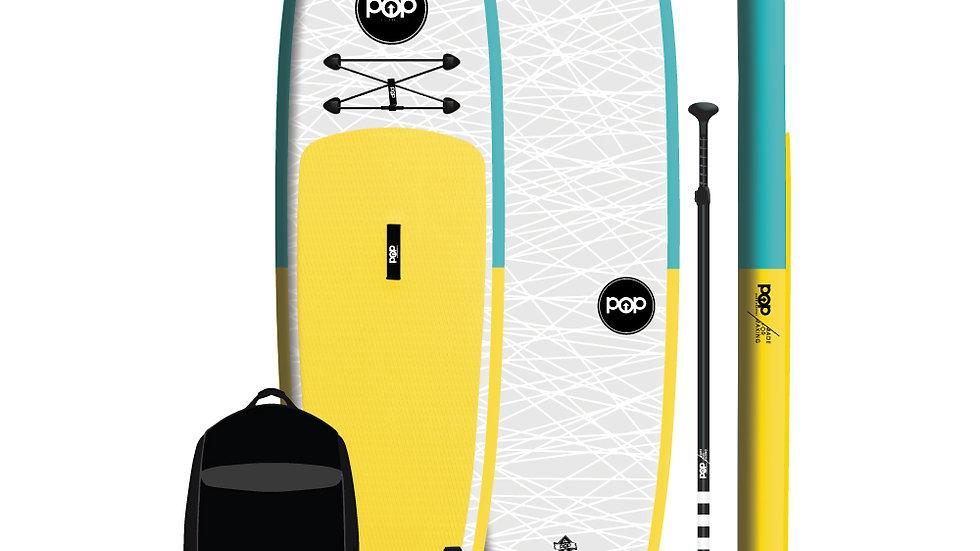 11'0″ Inflatable –Yellow, Turquoise