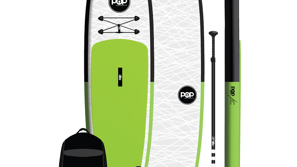 11'0″ Inflatable – Green, Black