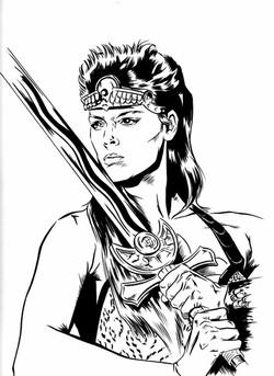 Red Sonja illustration