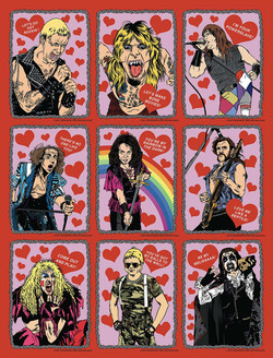 Heavy Metal Valentine's Day Cards