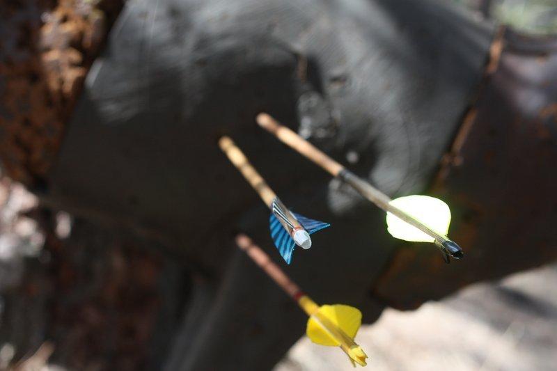 archery-traditional-oregon-arrows-target