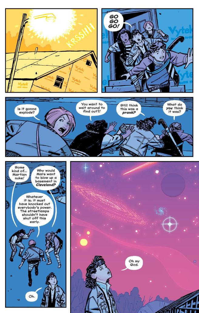 Paper Girls, Vol. 1 (tpb), page 36, Image Comics, Vaughan/Chiang/Wilson/Fletcher