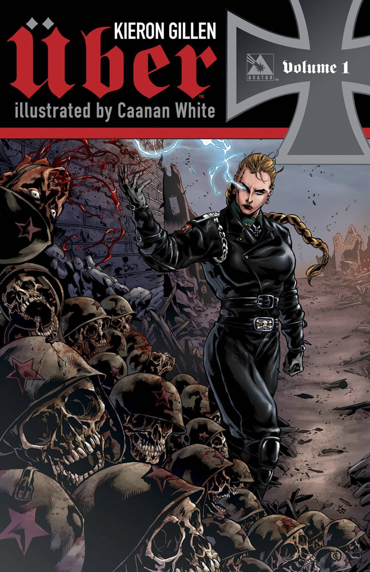 Über, Vol. 1 (tpb), cover, Avatar Press, Gillen/White